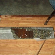 home flood before